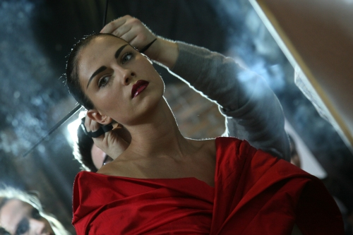 Backstage by fashion photographer Patricia Munster