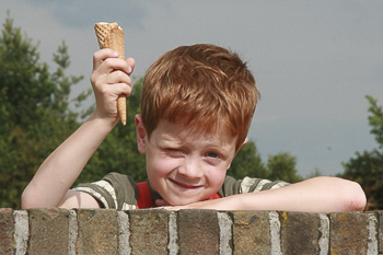Portret gemaakt door kinderfotograaf Patricia Munster