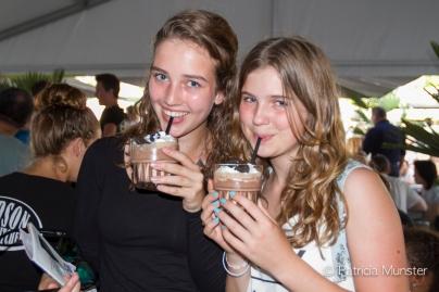 Genieten bij Hudson Bar & Kitchen met milkshake oreo & aardbei