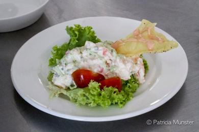 De Heeren van Soetermeer - Salade van koningscrab