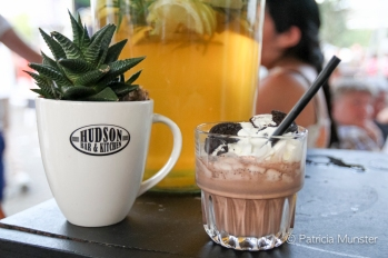 Hudson Bar & Kitchen - Milkshake met Oreo & Aardbei