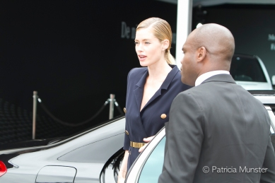 Doutzen Kroes arrives at MBFWA