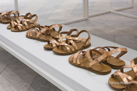 Golden Sandals for children