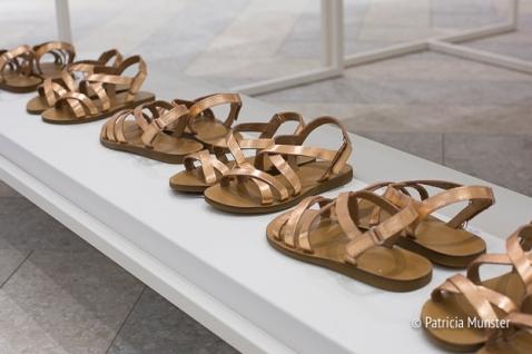 Golden Sandals for children