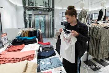 Shopping at MANGO