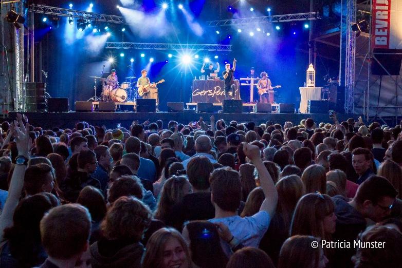 Gers Pardoel op Bevrijdingsfestival 2016 in Zoetermeer