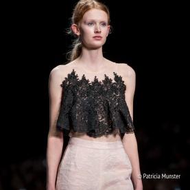Ala Blanka by Anbasja Blanken - lace top