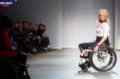 SUE wheelchair runway show