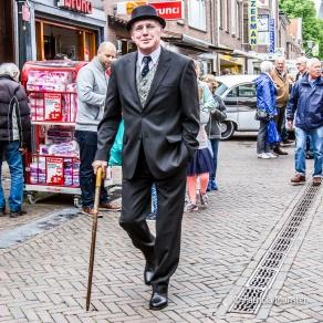 Vintage look tijdens Oldtimerdag Zoetermeer 2017
