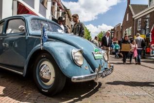 Kever tijdens Oldtimerdag Zoetermeer 2017