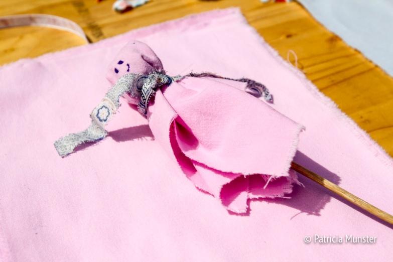Poppetjes maken op Westerparkdag