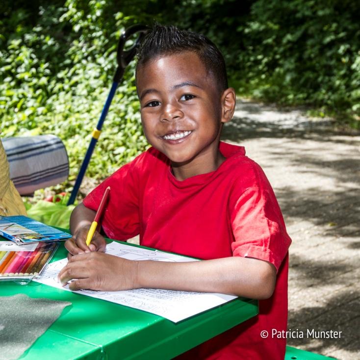Kleuren op de Westerparkdag in Zoetermeer