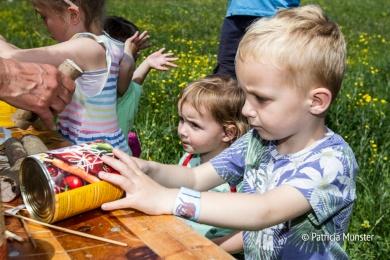 Insectenhotel maken op Westerparkdag