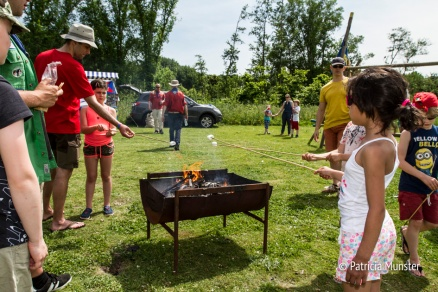 Scouting Impeesa in Westerpark - Marshmallows roosteren