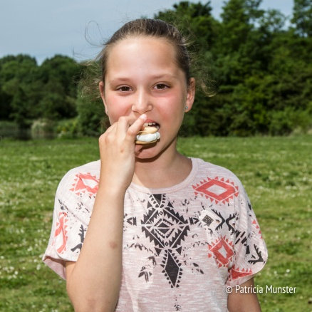 Wat zijn marshmallows lekker!