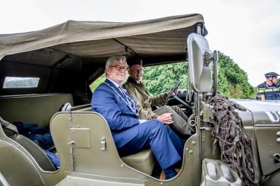 Veteranendag 2017 Zoetermeer - Buytenpark - Burgemeester Aptroot