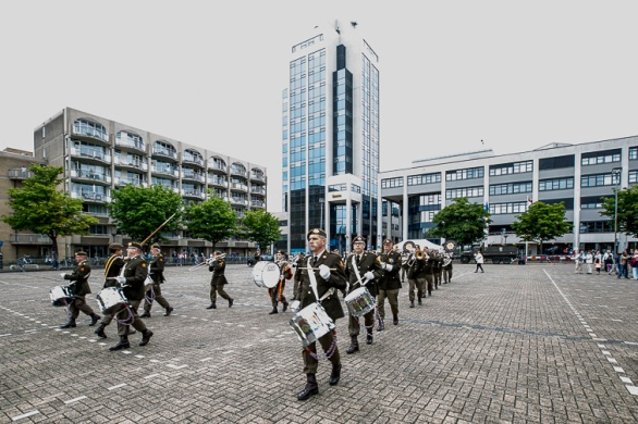 Veteranendag 2017 Zoetermeer -Reünieorkest Regiment van Heutsz
