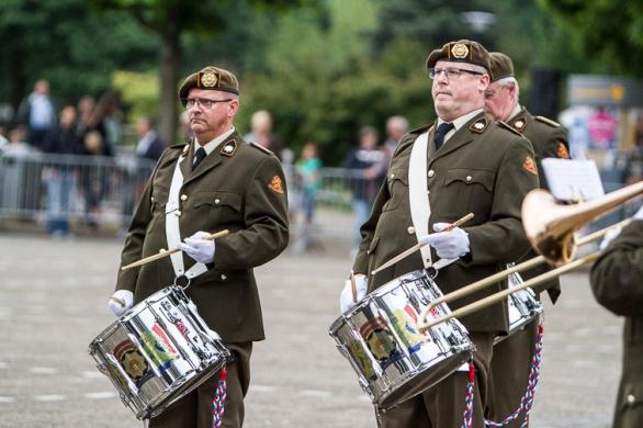 Reünieorkest Regiment van Heutsz - Veteranendag 2017 Zoetermeer