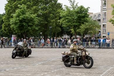 Militaire parade Veteranendag 2017 Zoetermeer