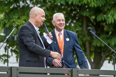 Ward Meijroos en Klaas Sijtsma