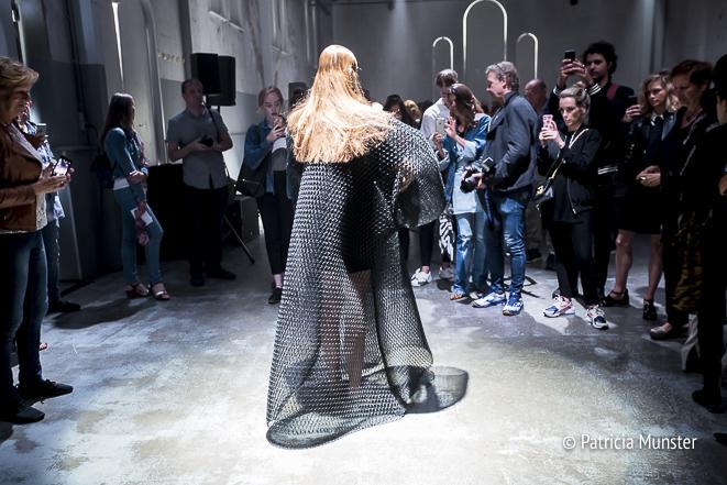 Barbara Langendijk ft. Noon Passama at FashionWeek Amsterdam