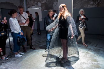 Barbara Langendijk ft. Noon Passama at FashionWeek Amsterdam with audience