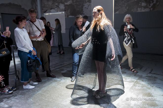 Barbara Langendijk ft. Noon Passama at FashionWeek Amsterdam with audience