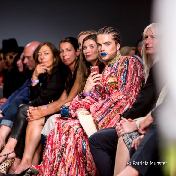 Elio Heres at Hacked by Van Slobbe Van Benthum at Amsterdam Fashion Week