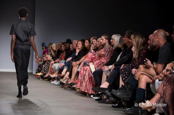 Frontrow at Hacked by Van Slobbe Van Benthum at Amsterdam Fashion Week