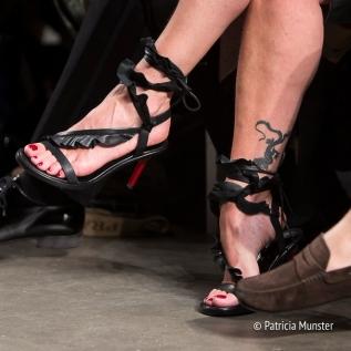 Detail frontrow Fashion Week Amsterdam