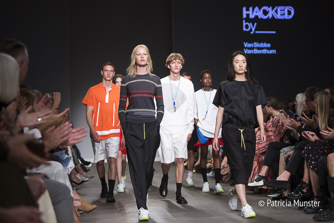 Hacked by Van Slobbe Van Benthum at Amsterdam Fashion Week