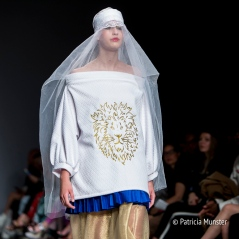 The lion - Maaike van den Abbeele at Fashionweek Amsterdam