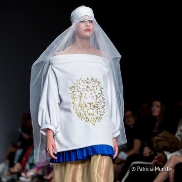 The lion - Maaike van den Abbeele at Fashionweek Amsterdam