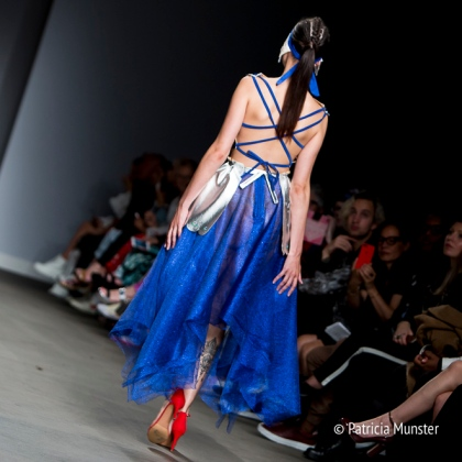 Runway show of Maaike van den Abbeele at Amsterdam Fashion Week