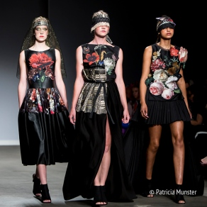 Old masters of the golden age at Maaike van den Abbeele at Amsterdam Fashion Week