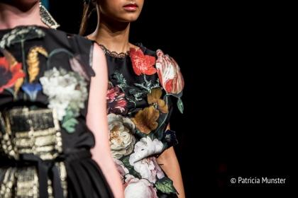 Detail at Maaike van den Abbeele at Amsterdam Fashion Week