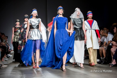 Finale - Maaike van den Abbeele at Fashionweek Amsterdam