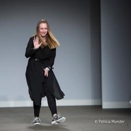 Maaike van den Abbeele at Fashionweek Amsterdam