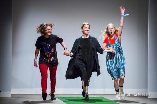 Maartje Janse, Elysanne Schuurman and Nikki Duijst