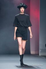 Merel van Glabbeek at Amsterdam Fashion Week with Mexican influences