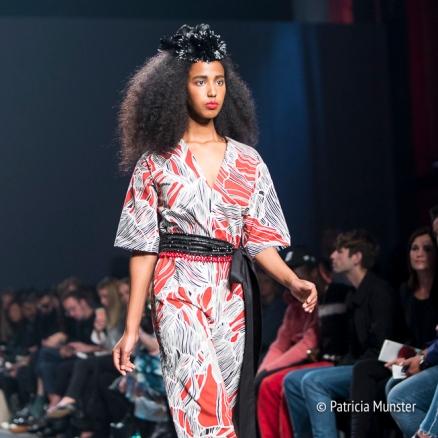 Prints bij Merel van Glabbeek at Amsterdam Fashion Week