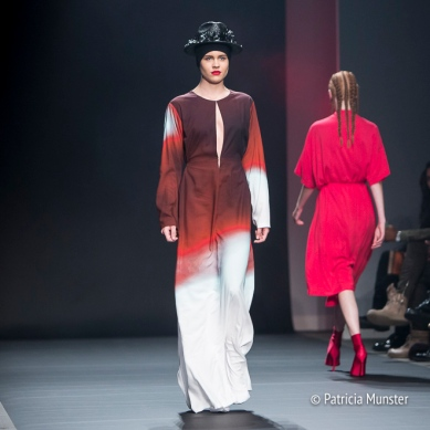 Merel van Glabbeek 'Flame' at Amsterdam Fashion Week