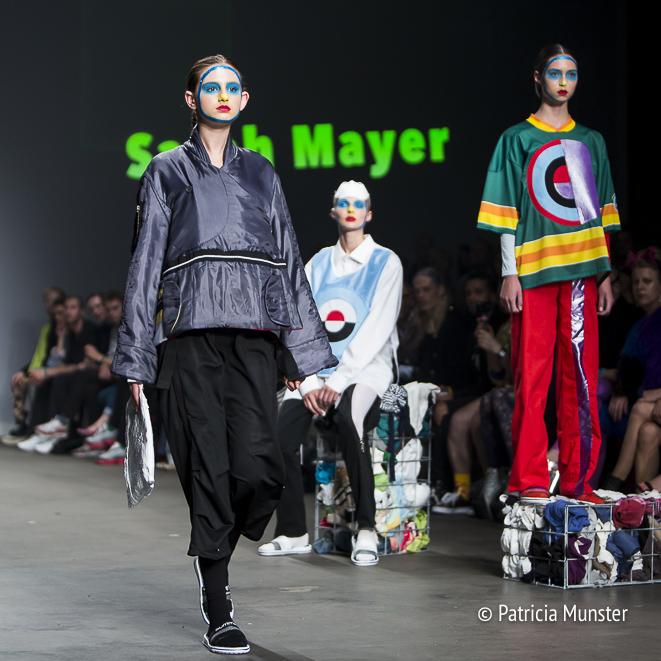 Sarah Mayer - Amsterdam Fashion Week - Amsterdam maakt er wat van