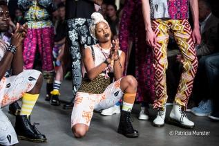 Sophia Bentoh at Amsterdam Fashion Week
