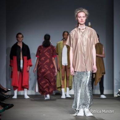 Sunanda Chandry Koning at Amsterdam Fashion Week