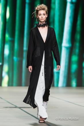 Tony Cohen SS18 Black and white at Amsterdam Fashion Week