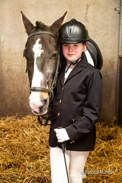 Poseren met mijn paard