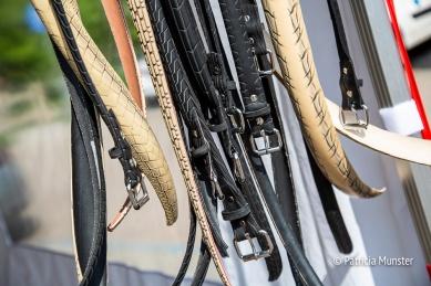 Originele riemen van fietsbanden