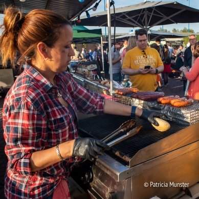 Preparing some food at Food Truck Festival 2018 Silverdome Zoetermeer