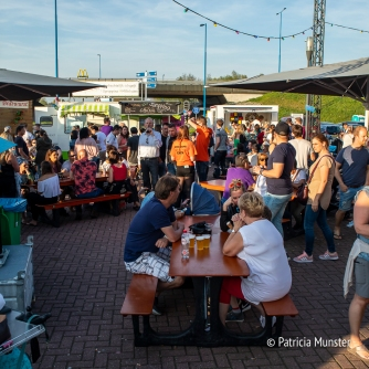Eating at Food Truck Festival 2018 Silverdome Zoetermeer